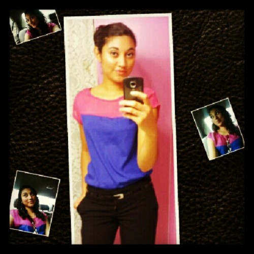 #church  #blue #pink #black # (Taken with Instagram)
