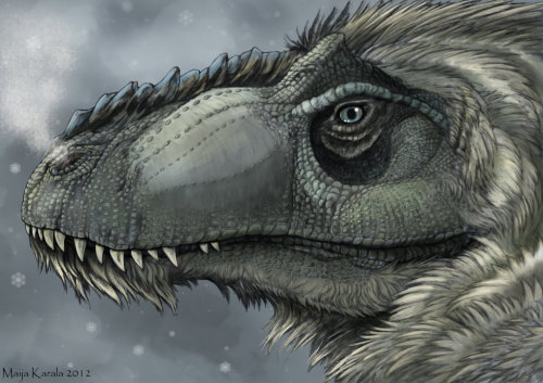 fuckyeahdinoart:  From the North came the Furry Tyrannosaurs by *Eurwentala