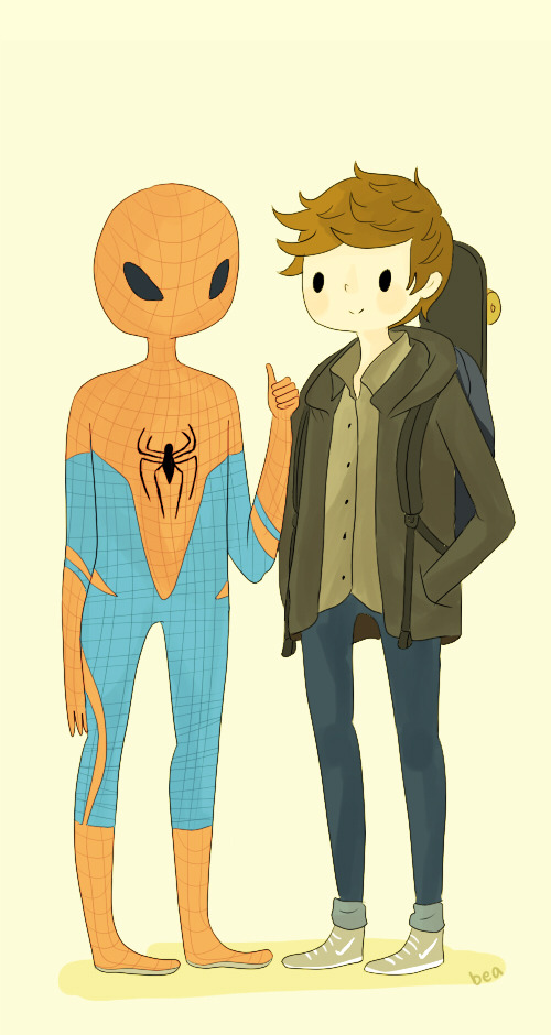 sillybro:  SPIDERMANDREW
