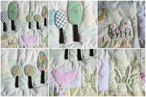 Doll quilt by moline on Flickr.
