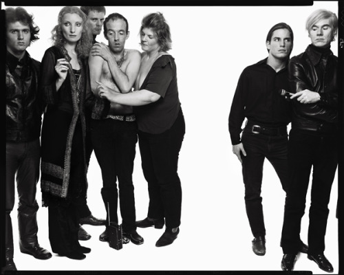 Andy Warhol and The Factory, October 9th 1969 by Richard Avedon