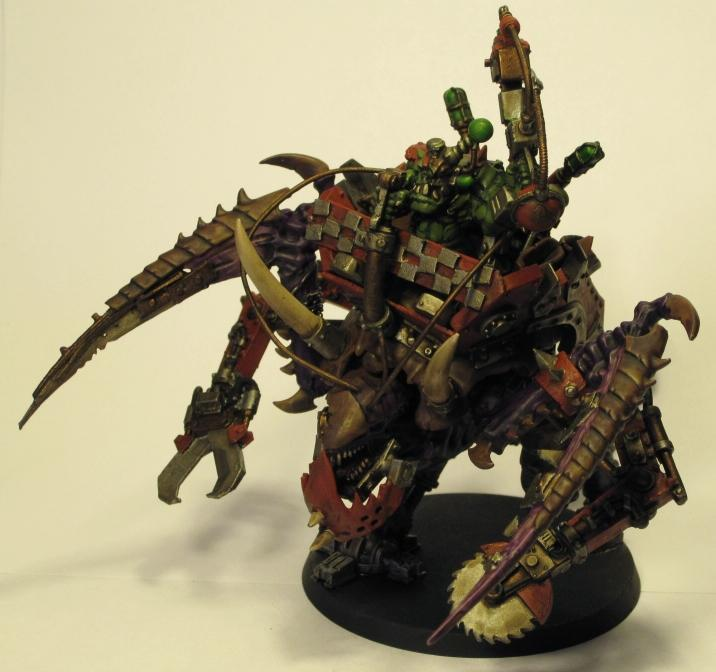 awfulpaintjob:  frothshield:  What the hell won't an Ork loot?  Nothing