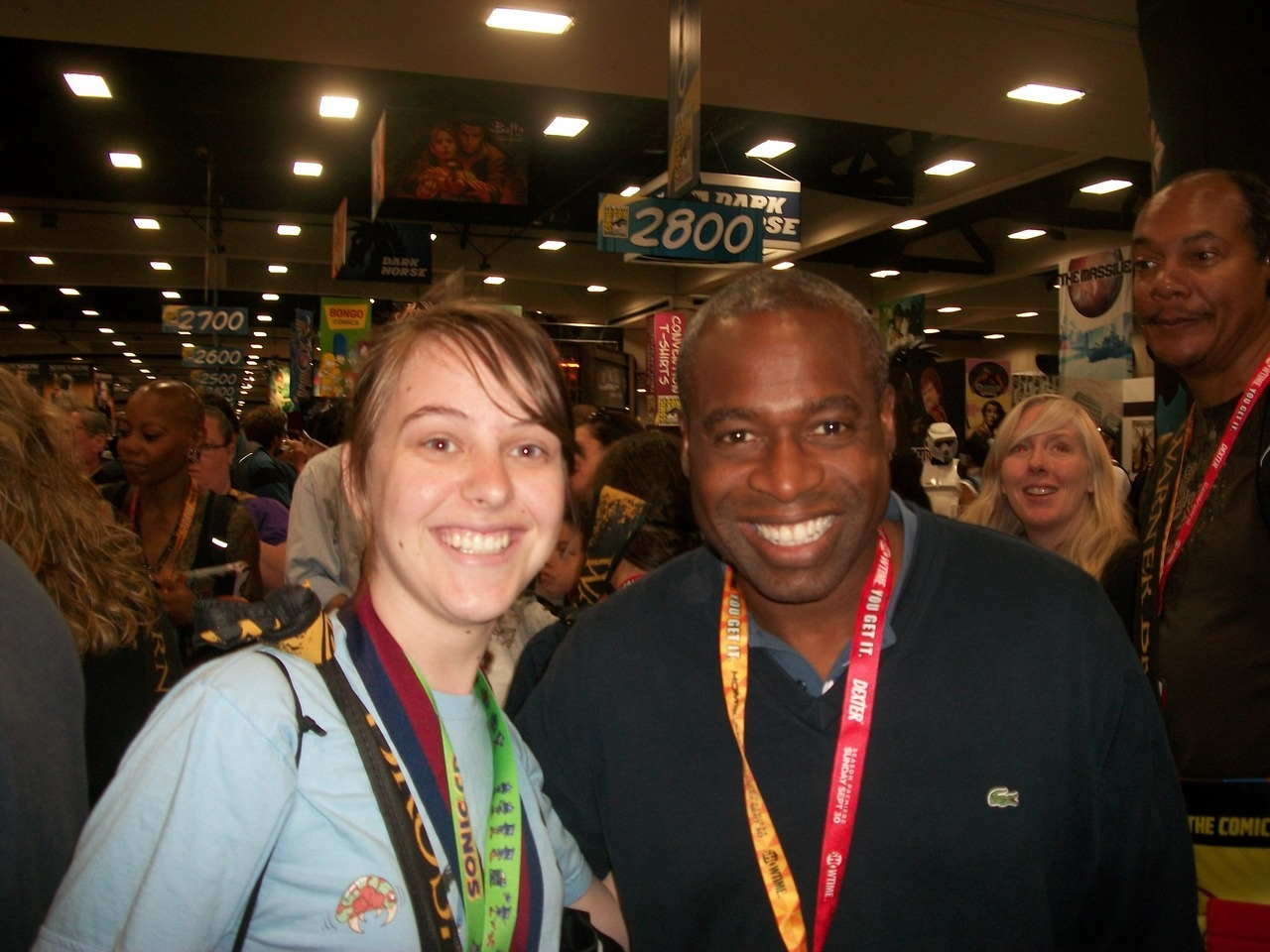 biologytextbook:  mrsjanestrider:  jetstrash:  so I met Mr. Moseby at Comic Con.  OH MY GOD  #JESUS TAKE THE PRNDL