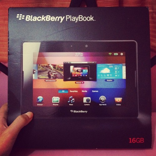 #playbook 👍 (Taken with Instagram)