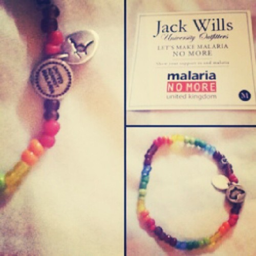 #bracelet #malaria #tribute #nomoremalaria #uk #instahealth  (Taken with Instagram)