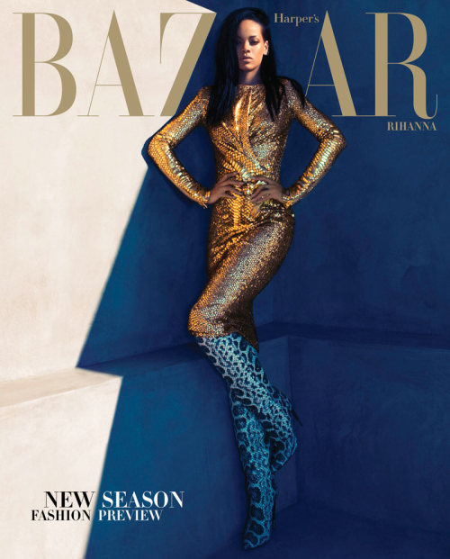 journaldelamode:  Rihanna for Harper's Bazaar US August 2012 by Camilla Akrans
