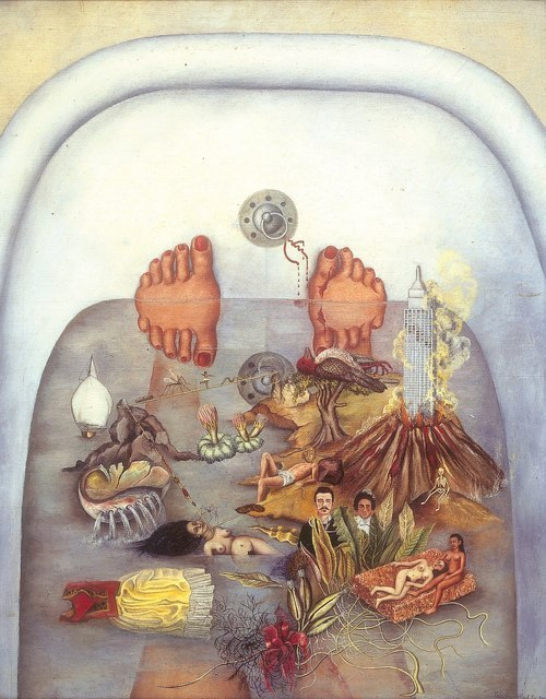 What The Water Gave Me (Frida Kahlo, 1938)