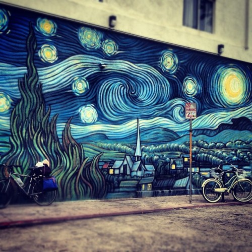 fightlikeafemale:  #venice #vangogh #art (Taken with Instagram)