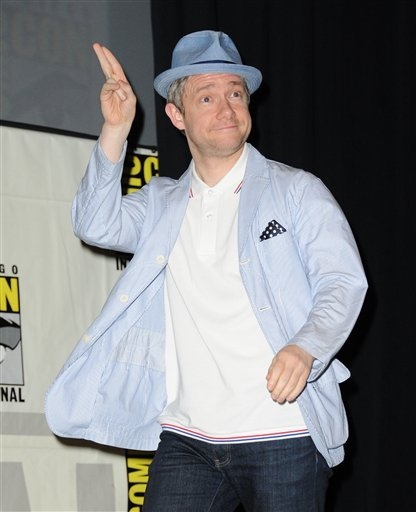 fruitydany:  Martin Freeman at The Hobbit panel