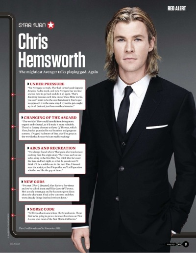 k4kimber:  Chris Hemsworth SFX Aug 2012