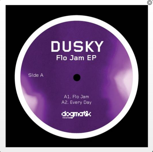 London Duo DUSKY totally on a hot streak. Following the Hot Chip remixes 'Flo Jam' running things..
