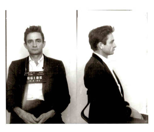 suicideblonde:  Johnny Cash's 1965 mugshot