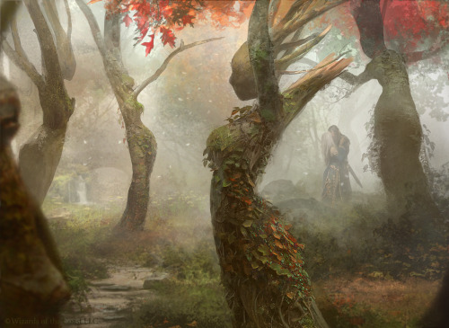 alextooth:  Magic the Gathering: Dryad Arbor by *Cryptcrawler