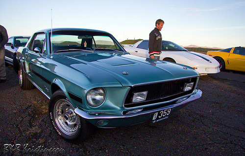 streetmarketcars:  Ford Mustang GT/CS ´68 by B&B Kristinsson on Flickr. http://bit.ly/MvedLw