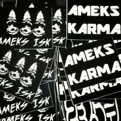 Thank you for the stickers.  #ameks #karma #stickerpacks #stickers (Taken with Instagram)