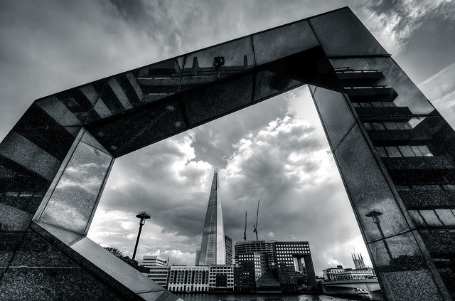 'The Shard Framed'.Source.