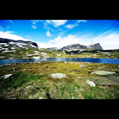 Haukelifjell on Flickr.Exif Camera: Nikon D700 Lens: Sigma 12.0-24.0 mm f/4.5-5.6 Aperture: f/11 Exposure Time: 1/160 Focal Length: 24mm ISO: 100