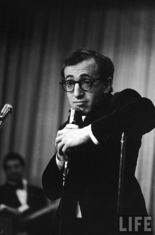 vanished:  Woody Allen 1966 by Bill Ray