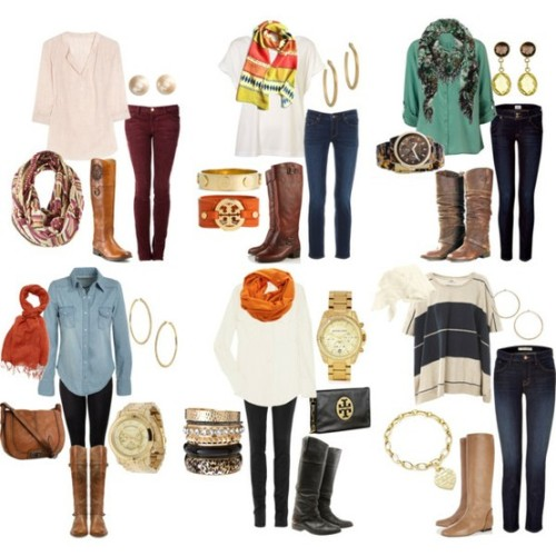 thepreppyyogini:  Fall style just around the corner…