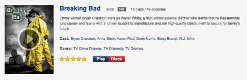 Cancel all your plans and marathon Breaking Bad Season 4 available now on Netflix Instant before season 5 premieres tonight.