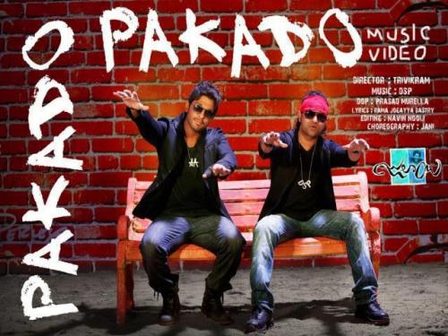 "First look of ""Pakado"" - Julayi, my fave song from the movie! Cannot wait to see it in action!!!"