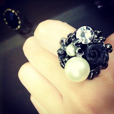 Bought lots of rings today :D 💍 (Taken with Instagram)