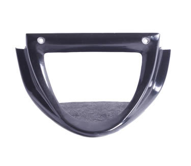 DEAL OF THE DAY!!! LM's Chin Fairing fits perfectly with the stock radiator cover. The LM Chin Fairing gives you that sporty look and the aerodynamic scoop helps keep the motor running cooler. This product is made from a strong fiberglass construction, gel-coat finish, flack black inner finish, stainless steel hardware, and instructions. Check out LM's Honey Comb screens for that added custom look for your Chin Fairing. Always feel free to view our instructions on-line under each manufactures category. This product fits the Kawasaki Vulcan Mean Streak 1500 &1600.