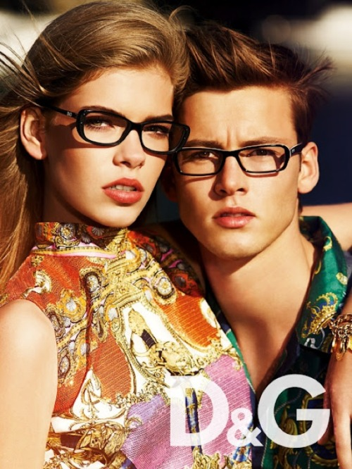 D&G Eyewear campaign for 2012