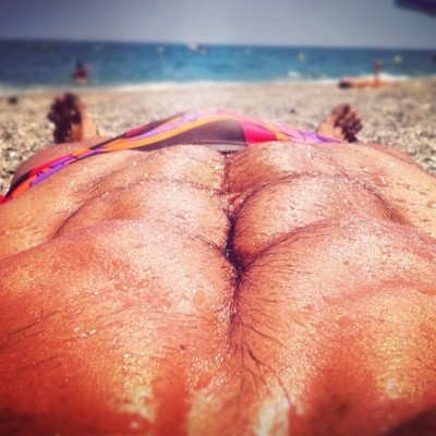 rafamartintv:  Six-Pack on the beach (Tomada con Instagram)