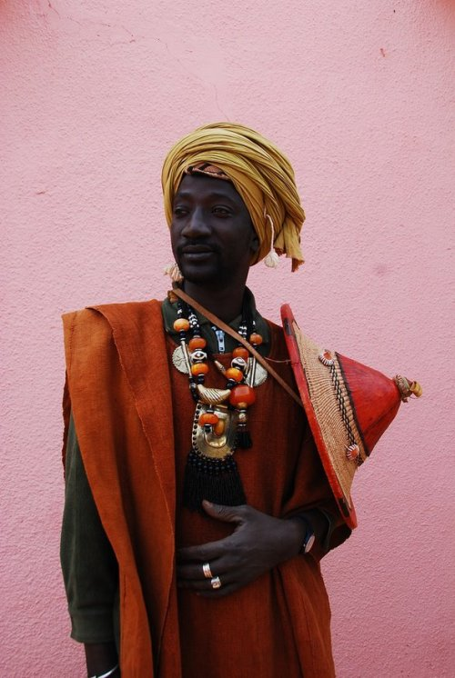 Peul/Fulani man in Mali.