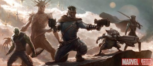 Guardians of the Galaxy concept art!
