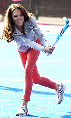 middleton-kate:  Bye guys! I'll be playing field hockey for the next four days just like my gurlll Kate!