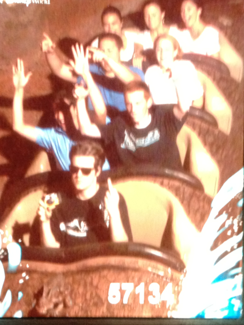 Badass yolo splash mountain selfies