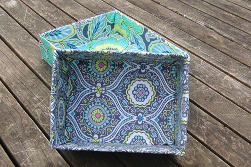 prettylittlepieces:  Fabric Covered Boxes Tutorial