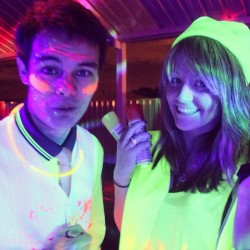 #neon #fluro #fluorescent #party #19th (Taken with Instagram)