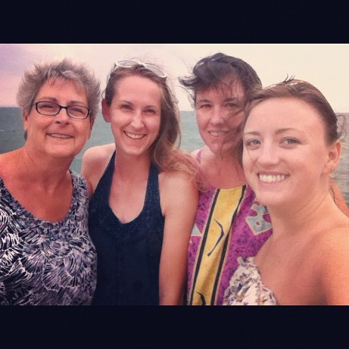 An incredible mothers/daughters weekend :) (Taken with Instagram)