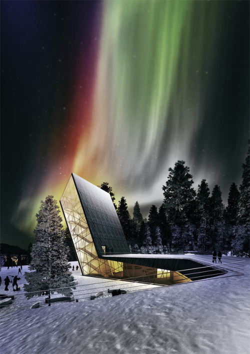 cielsans:  OBA International Contest (Aurora Borealis Observatory) by Robert Gjergo