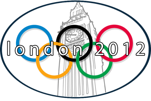 Here's today's variation of the London 2012 Summer Olympics' logo.