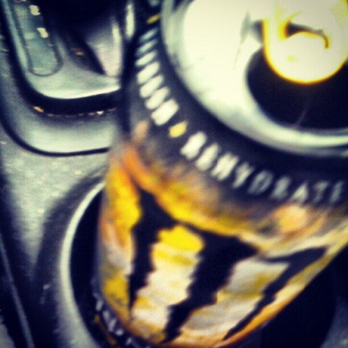 Breakfast drink Lemonade Monster (Taken with Instagram)