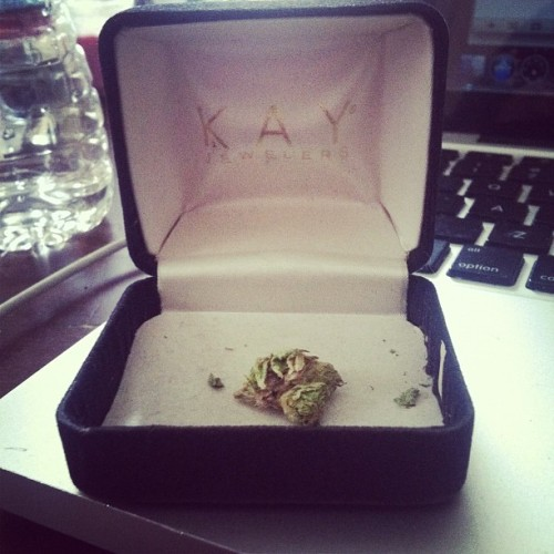 """I Do""…. All this kush begins with K (Taken with Instagram)"