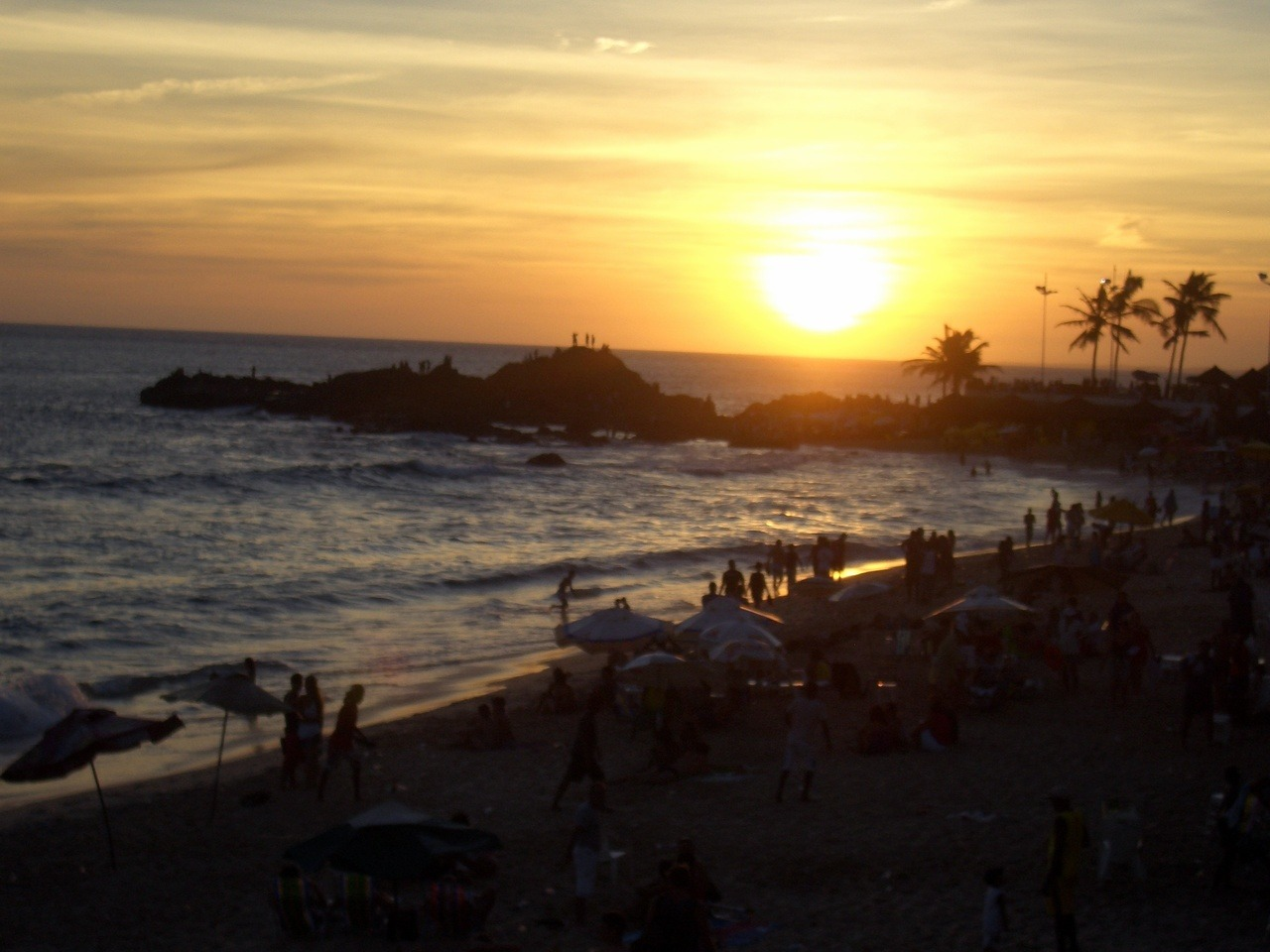 Sunset on the BeachSalvador, Brazil