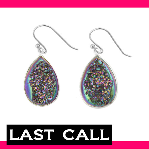 Only 1 pair left of the rainbow crystal earrings!