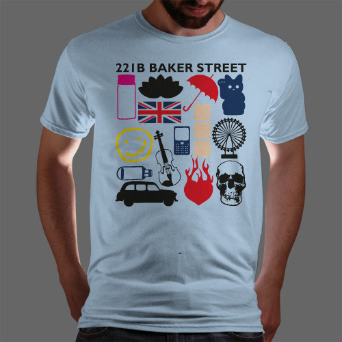 Only 7 hours left to get Sherlock Favourite Moments at Qwertee!