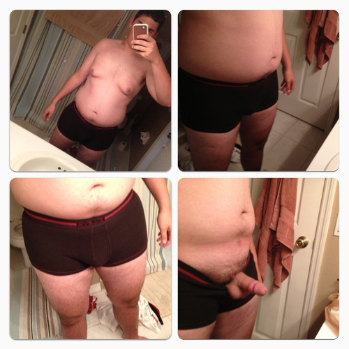 electricunderwear:  Underwearrrr! (EUP: cubbybuddy622 - I have these undies… And I love them on you. I love the peek-a-boo shot! Woof!)