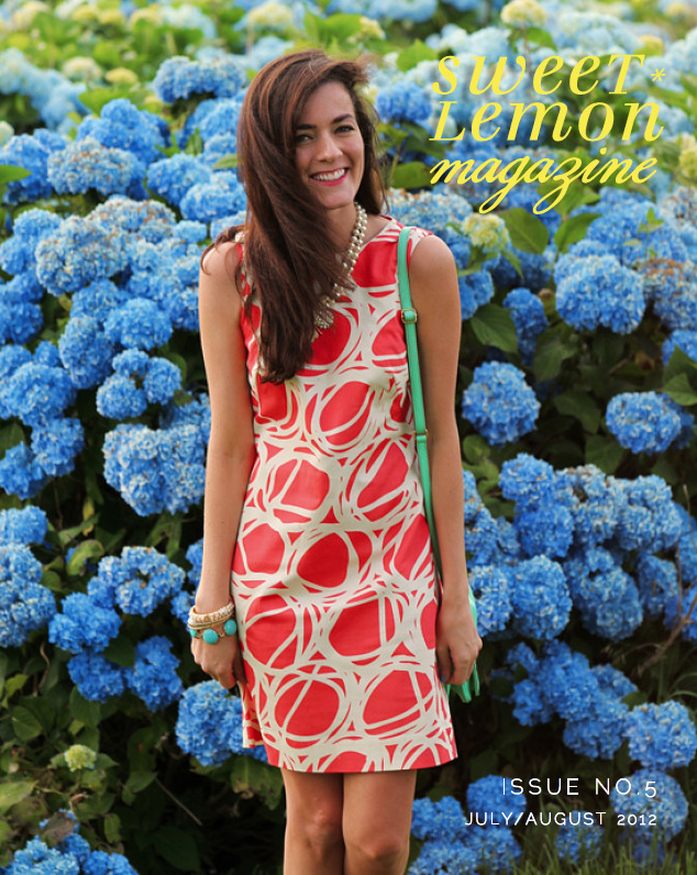 sweetlemonmag:  Sweet Lemon Magazine | July/August cover girl sarah vickers