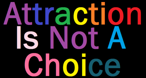 Attraction is not a choice.