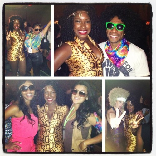 My team of health coaches are groovy!!! 70's funk!!! @desmondbryant1! We are taking over! In  #love #style #health #community #glisteningnhealth #herbalife #herbagoddess  (Taken with Instagram)
