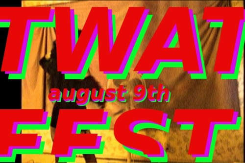 twatfest:  TWAT/fest!! Trans Women's Arts Toronto festival! Please share widely!! AUGUST 9th 2012 at Buddies in Bad Times Theatre Experience cutting edge video, performance, new media, and visual art created by trans woman-identified (and trans female-spectrum) artists in the world's first trans women's fine arts festival. Curated and organized by Morgan M Page.Featuring work byMirha-Soleil Ross (Montreal)Izzy Ellis (Toronto)Morgan Sea (Montreal)Raphaële Frigon (Montreal)Lily Butter (Sybil Lamb) (Toronto)CPI (Ottawa)Madeline Hoyle (Cleveland)Morgan M Page (Toronto)and more!More details soon!Buddies is a wheelchair accessible venue. More accessibility information coming soon!  ***** This event is being put on entirely out of my own pocket! We have no funders. So please, please come to this event, and tell all your friends, and support trans women and trans-female-spectrum artists! Facebook event:http://www.facebook.com/events/422484317790868