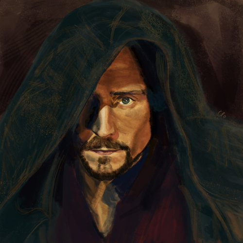 nettyhart:  renkris:  The Hollow Crown_THiddleston by *Namecchan  Oooh - the darker, moodier, more calculating side to Prince Hal!  Love it.  Actually, this is Henry V LARPing. (Henry V, Act IV.1)