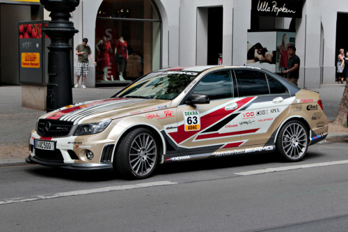 carmonday:  because race car Mercedes C63 AMG DTM look